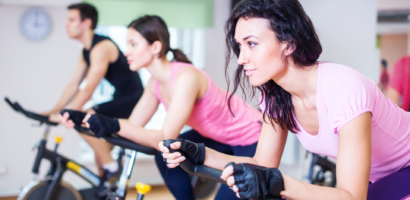 Spinning classes at The Hive Gym, Edgware